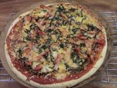 Easy Healthy Veggie Pizza Recipe