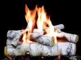 Perfect Gas Fireplace Logs - Birch