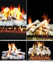 Toasty Gas Fireplace Logs - Birch