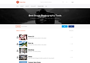 Best Stock Photography Tools - Finding great images is hard. These tools make it (a lot) easier. by Product Hunt