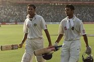 Only two tests have been won by teams after following-on. VVS Laxman and Rahul Dravid after their magnificent 376 aga...