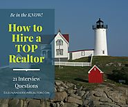 Top Interview Questions To Ask When Hiring Realtors | Eileen Anderson, Realtor | Berkshire Hathaway
