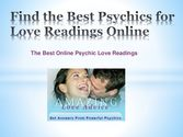 Find the best psychics for love readings