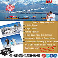 Website at http://friendstraveldeal.com/Jammu-Kashmir.htm