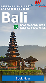 Website at http://friendstraveldeal.com/Bali.htm