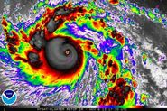 Super typhoon Haiyan goes off the scale on approach to the Philippines