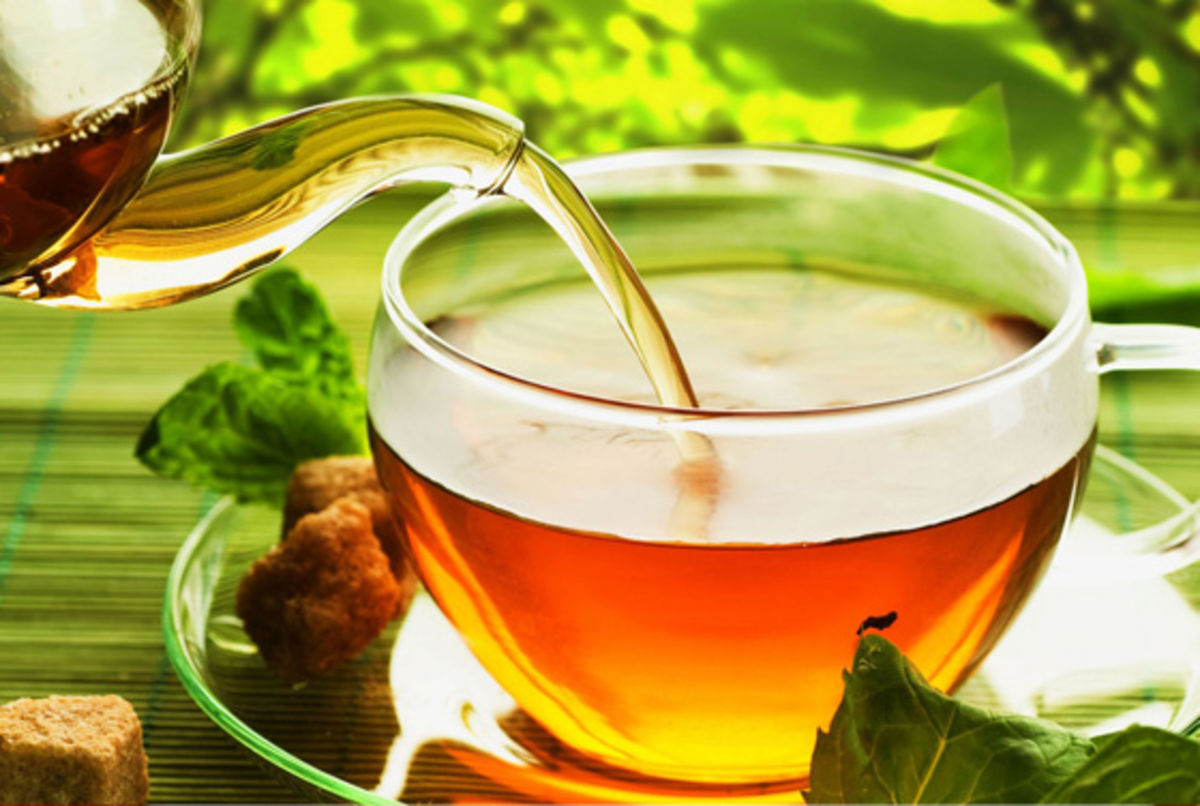 Headline for 10 Types of Herbal Tea