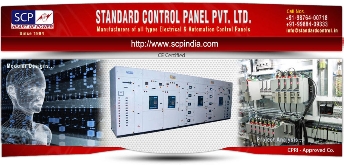 Headline for Electrical Control Panels manufacturers exporters in India uk, usa, dubai, germany, italy