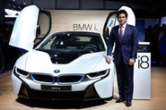 Sachin Tendulkar on the launch of BMW i8 hybrid in India