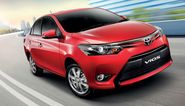 Testing Phase For Toyota Vios Sedan, expected in 2016