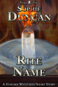 Rite Name (The Haward Mysteries 0.3)