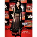 Sonakshi Sinha Net Machine Work Black Semi Stitched Bollywood Style Suit - 1031