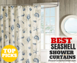 Top-Rated Seashell Shower Curtains * Curtain It!