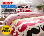 Mustache Bedding Set - Jump Into the Trend! * Beddings Center