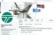 Washington State Department of Transportation Social Media Effort