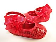 Exclusive Baby Party Shoes by The Sparkle Club