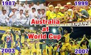 Australia triumphs in 4 ICC Cricket World Cup series