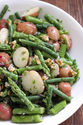 Potato Salad with Green Beans and Asparagus
