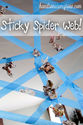A Sticky Spider Web Activity for Kids - hands on : as we grow