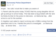 Dunwoody PD - Memorial Day Humor