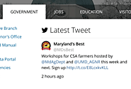 State of Maryland - Social Media for Citizen Engagement