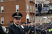 Dunwoody Police Department - Sergeant Parsons Attends NYPD Officer Funeral