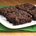 Chocolate Zucchini Brownies