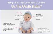 Baby Dolls That Look Real & Lifelike: Do The Details Matter?
