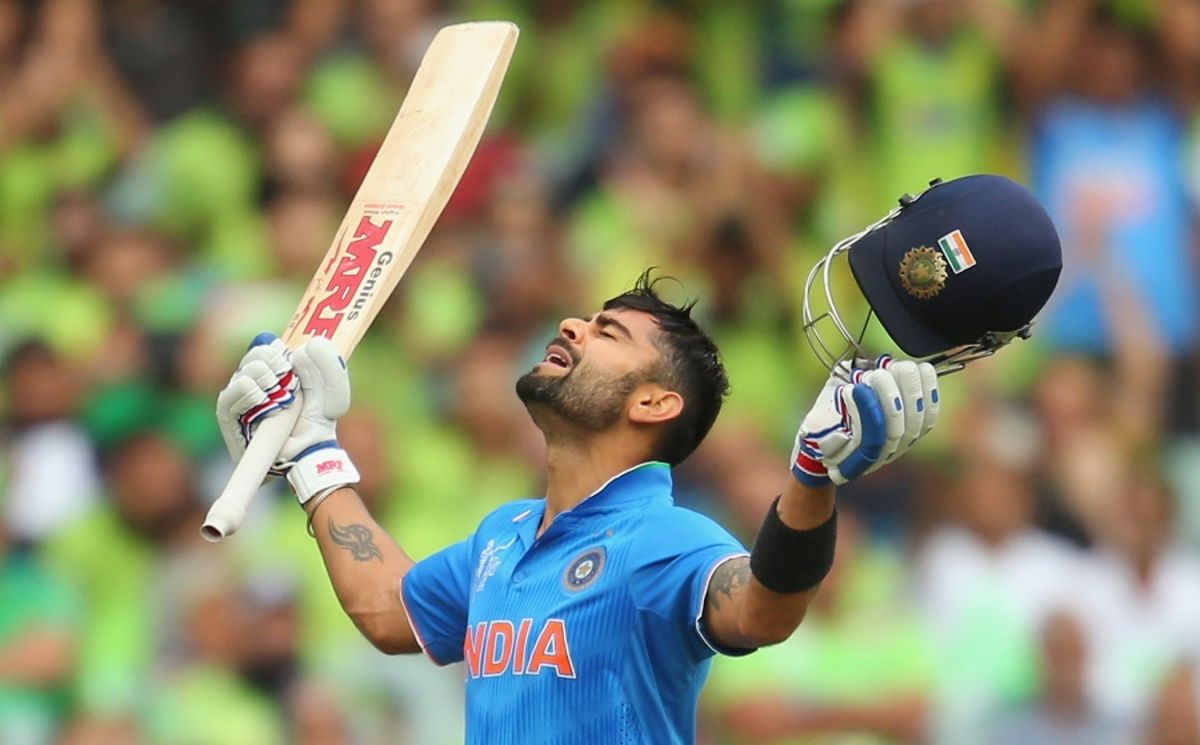 Headline for Virat Kohli's Journey in Pictures