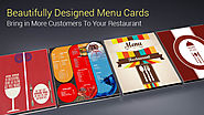 Beautifully Designed Menu Cards Bring in More Customers to Your Restaurant