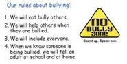 No Bully zone picture