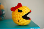 How-To: Ms. Pac Man Amigurumi