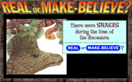 Dinosaurs- Real or Make Believe?
