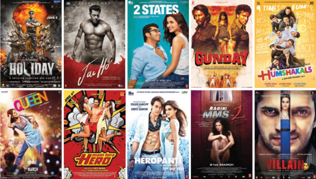Headline for Top 10 Bollywood Hits of 2014 with Highest Rate of Return