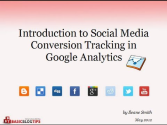 Resource: Track Social Media Conversions in Google Analytics