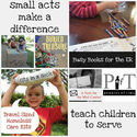 Acts of service with your family