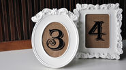 DIY Wedding Project: Rustic Vintage Table Numbers
