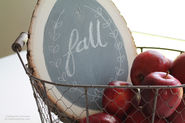 DIY Fall Chalkboard Sign - I Heart Nap Time