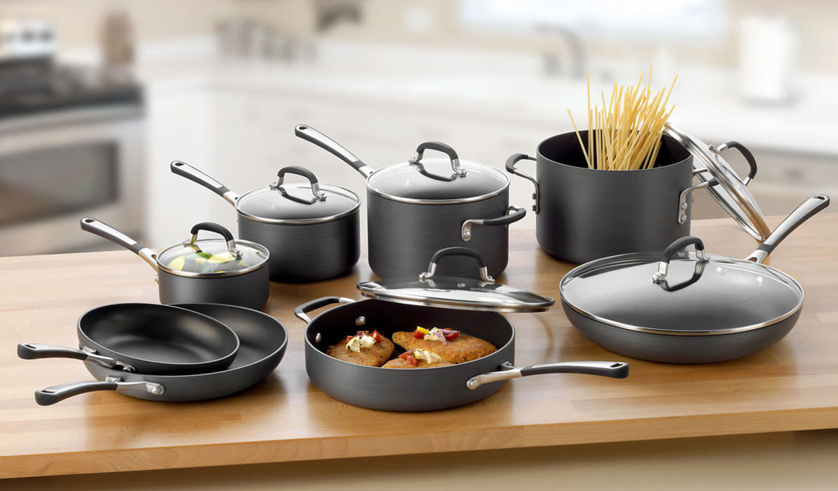 Headline for Calphalon Stainless Steel Cookware Sets