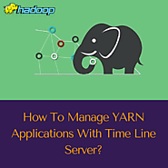 How to manage YARN applications with Time line server?