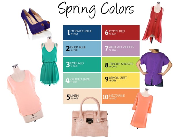 Headline for Top Spring Fashion Colors for 2013