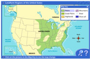 Landform Regions of the United States