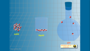 STATES OF WATER | Molecules | Free & Interactive Educational Flash Animation - Interactive Physics simulation | A...
