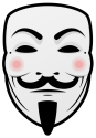 Printable Vector Guy Fawkes Mask!