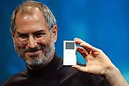 Steve Jobs introduces the iPod in 2001