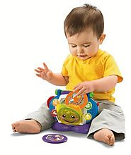 Fisher Price Sing Along Toy CD Player for Toddlers Gift Idea for a Young Child
