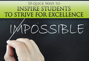 Kicking Off the New Year: 10 Ways to Inspire Students to Strive For Excellence