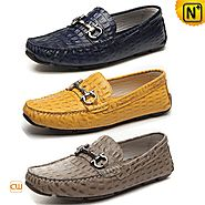 Cwmalls Mens Dress Loafers Slip-on Shoes CW740012