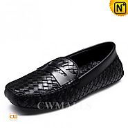 CWMALLS Woven Leather Driving Shoes CW706159