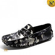 CWMALLS Mens Camo Driving Shoes CW706167